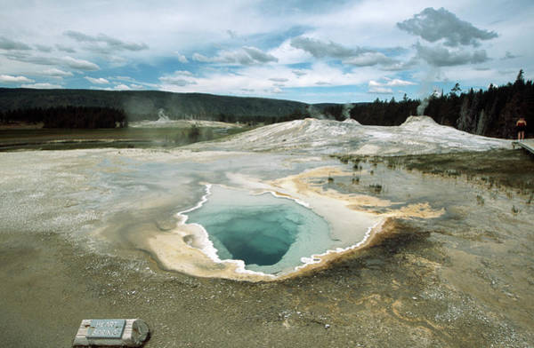 Sulphur Photograph - Yellowstone National Park, Wyoming, Usa by Travel Ink