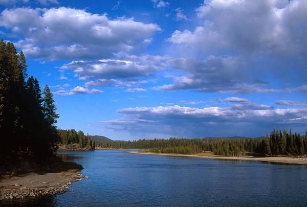 Wall Art - Photograph - Yellowstone River by David Hosking
