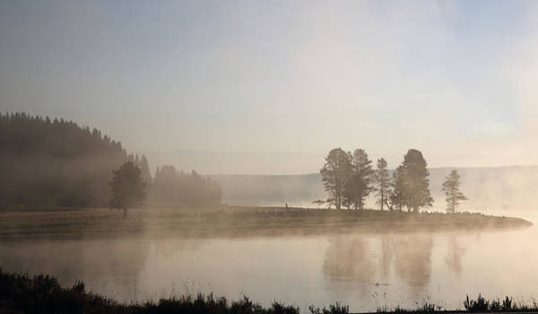 Photograph - Yellowstone River Early Morning by Jean Clark