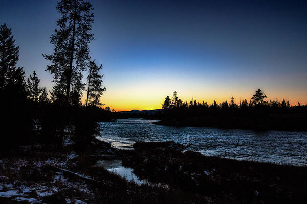 Photograph - Yellowstone River by Pete Federico