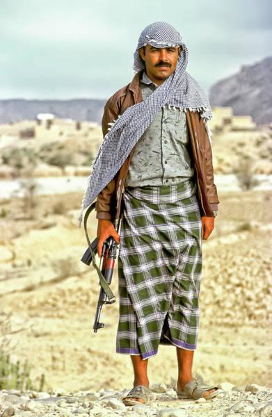 Photograph - Yemeni Man From The Hadhramaut by Robert Woodward