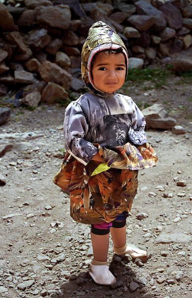 Photograph - Yemeni Toddler by Robert Woodward
