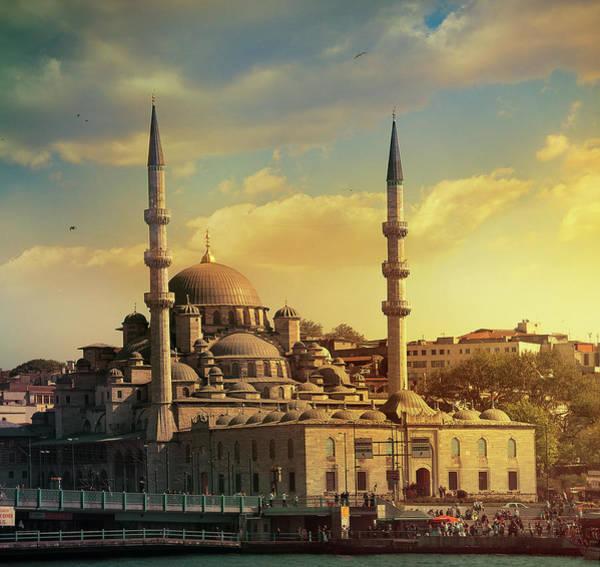 Wall Art - Photograph - Yeni Camii Mosque In Istanbul by Istvan Kadar Photography