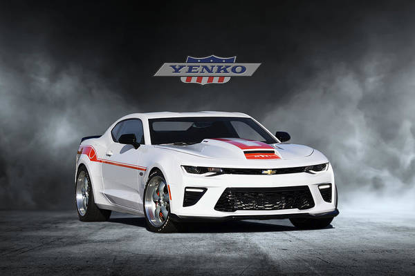 Wall Art - Digital Art - Yenko Camaro by Peter Chilelli