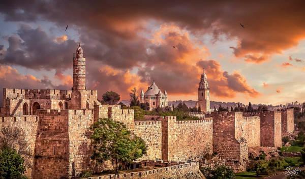 Photograph - Yerushalayim Shel Zahav by Endre Balogh
