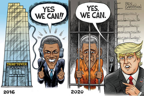 Drawing - Yes We Can by Ben Garrison