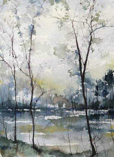 Painting - Yesterdays Colours by Robin Miller-Bookhout