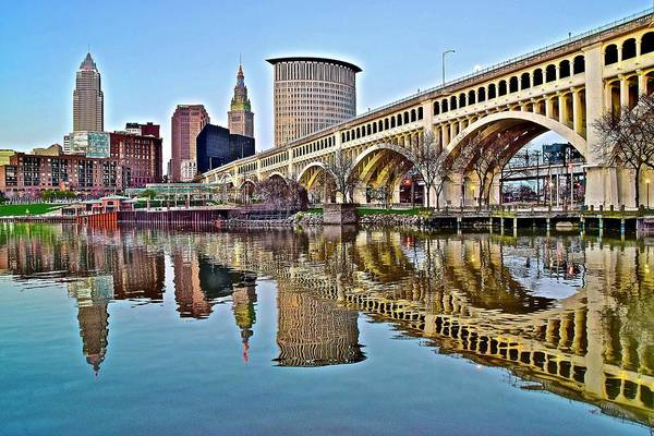 Wall Art - Photograph - Yet Another Picture Perfect Day In Cleveland by Frozen in Time Fine Art Photography