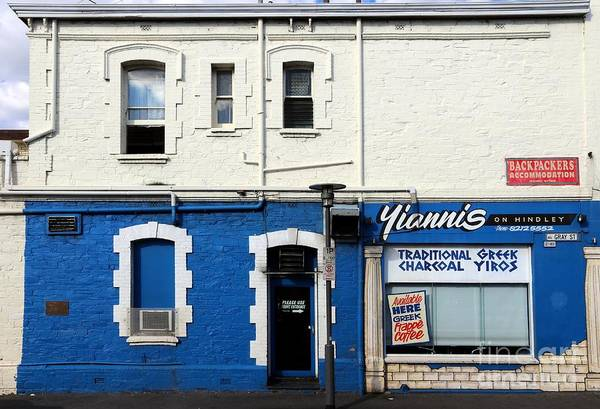 Photograph - Yianni's On Hindley by Stephen Mitchell