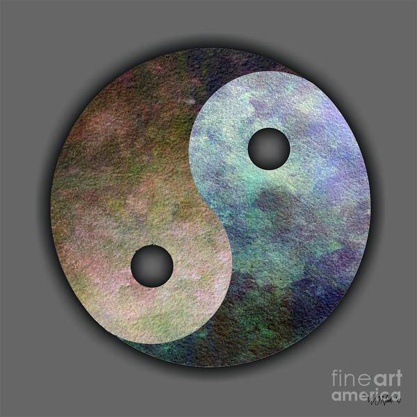 Digital Art - Yin And Yang by Walter Neal