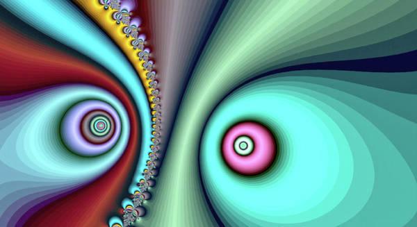 Digital Art - Yin Yang Blue Fine Art by Don Northup