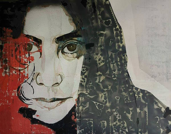 Wall Art - Painting - Yoko Ono by Paul Lovering