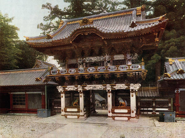 Japan Photograph - Yomeimon Gate by Spencer Arnold Collection
