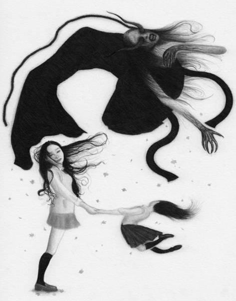 Drawing - Yonokaze - Artwork by Ryan Nieves