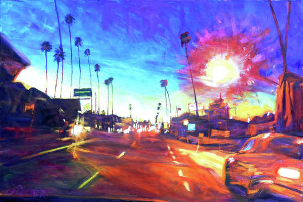 Painting - York At Figueroa, Highland Park by Bonnie Lambert