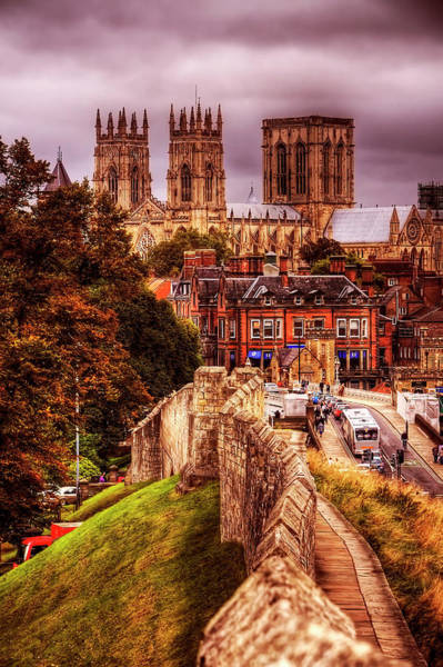Fortified Wall Art - Photograph - York Minster by Stephen Candler Photography