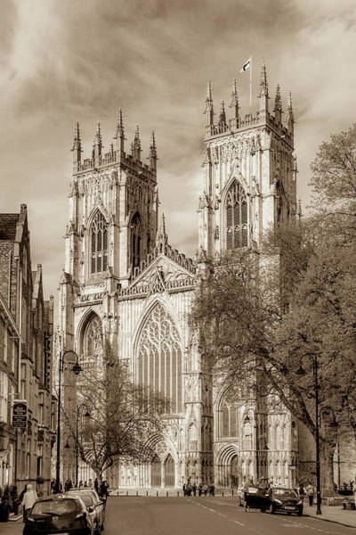 Wall Art - Photograph - York Minster by W Chris Fooshee