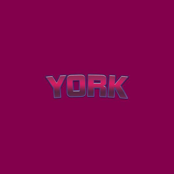 Wall Art - Digital Art - York #york by Tinto Designs