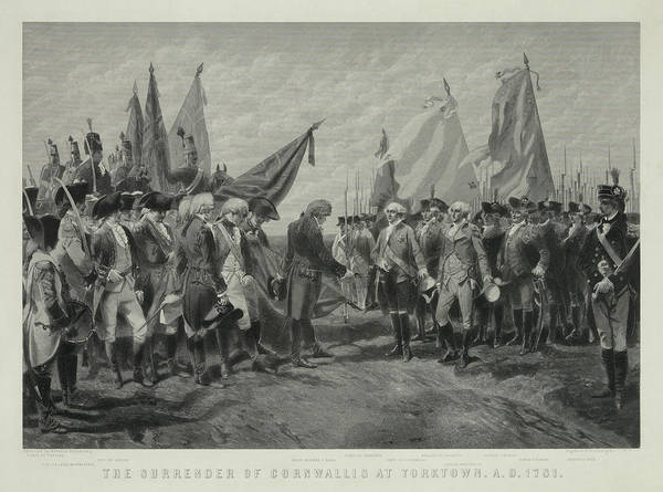 Wall Art - Painting - Yorktown Surrender, The Surrender Of Cornwallis At Yorktown by Charles Edouard Armand-Dumaresq