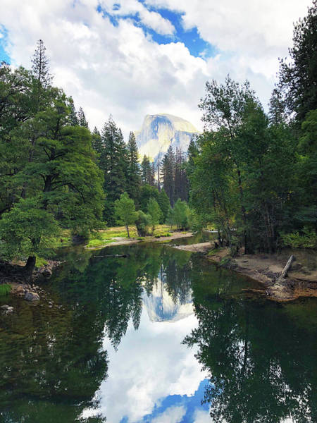Photograph - Yosemite Classical View by Silvia Marcoschamer