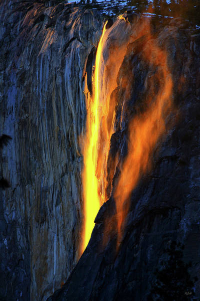 Photograph - Yosemite Fire And Ice by Greg Norrell