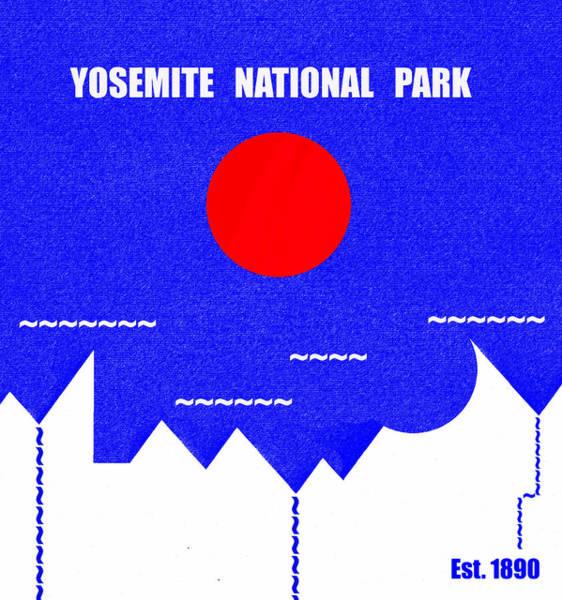 Wall Art - Mixed Media - Yosemite N. P. M Series by David Lee Thompson