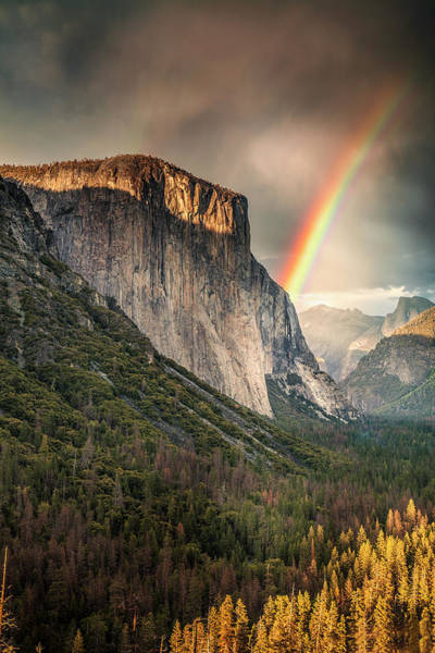 Wall Art - Photograph - Yosemite Rainbow by Andrew Soundarajan