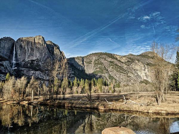 Photograph - Yosemite Reflection by Portia Olaughlin