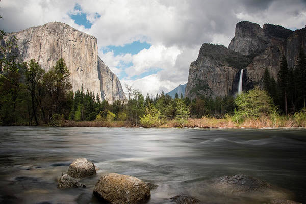 Photograph - Yosemite Valley View by Jennifer Ancker