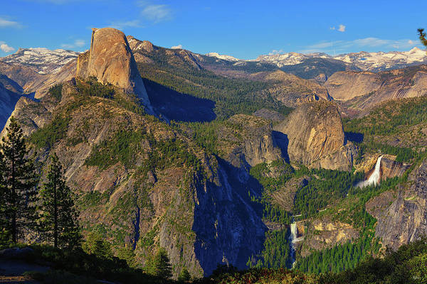 Photograph - Yosemite Washburn Point Overlook by Greg Norrell