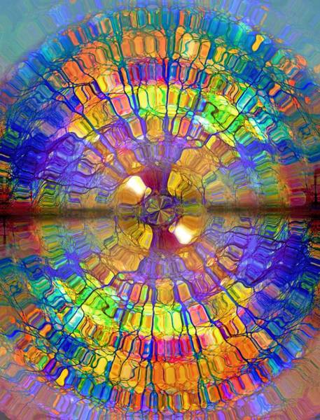 Drawing - You Are Already A Kaleidoscope On The Inside by Tara Turner