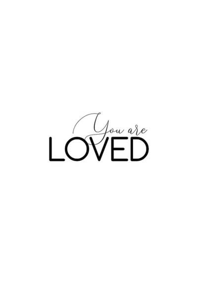 Photograph - You  Are Loved #minimalist #inspirational by Andrea Anderegg