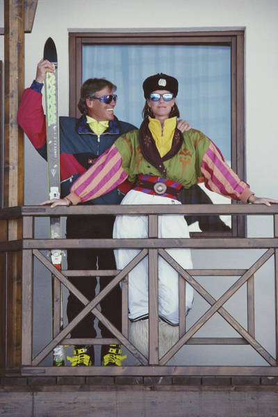 Skiing Photograph - You Look Wonderful by Slim Aarons