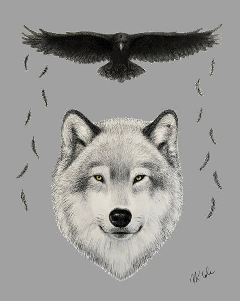 Drawing - You Will Fly by Vanessa Cole