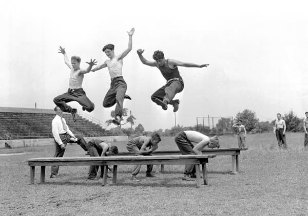 Queen Photograph - Young Athletes Who Belong To A Newly by New York Daily News Archive