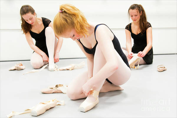 Wall Art - Photograph - Young Ballet Dancers by Guido Koppes