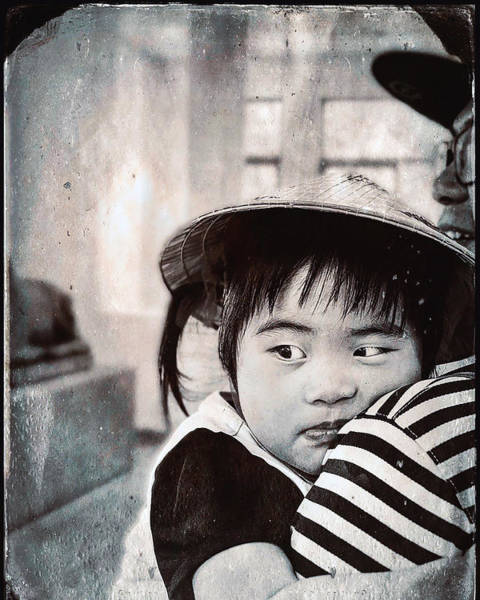 Wall Art - Photograph - Young Child, Siem Reap, Cambodia by Madeline Ellis