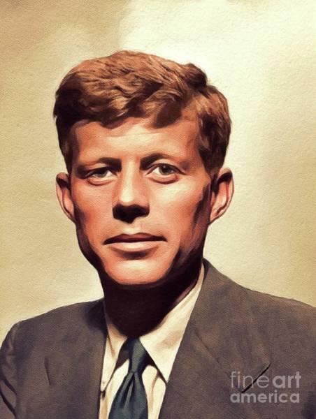 Young John F. Kennedy Art Print