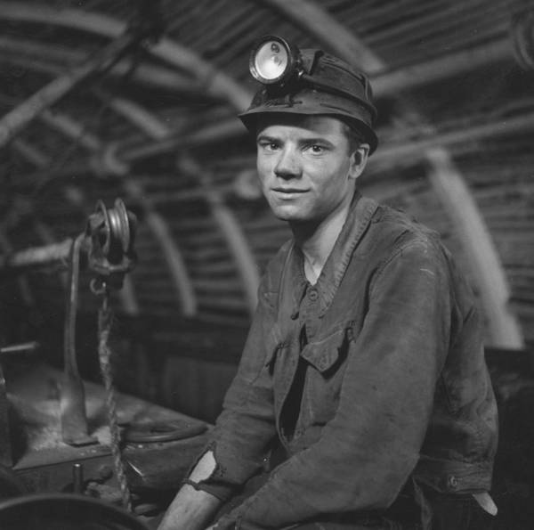Miners Photograph - Young Miner by John Craven
