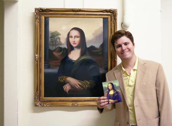 Wall Art - Photograph - Young Mona Lisa by David N Corrado