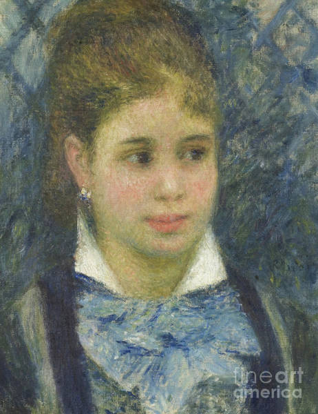 Wall Art - Painting - Young Parisian By Renoir by Pierre Auguste Renoir