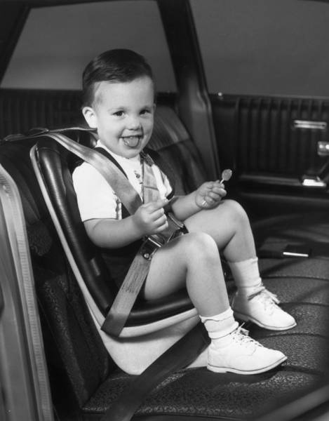 2 Photograph - Young Passenger by Archive Photos