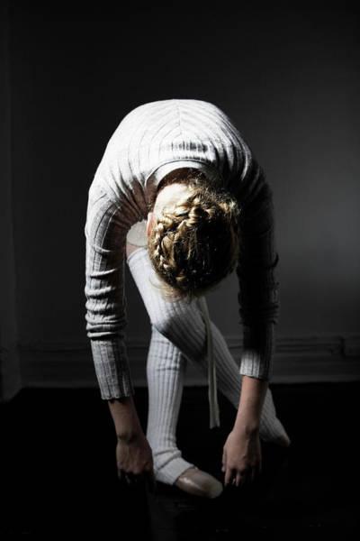 Bending Photograph - Young Woman Bending by Win-initiative/neleman
