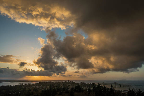 Photograph - Youngs Bay And Columbia River by Robert Potts