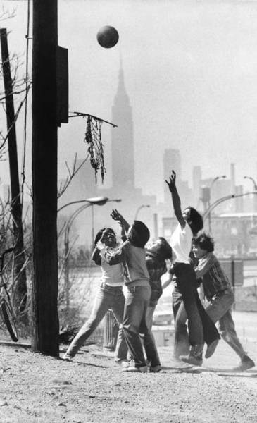 Resourceful Photograph - Youngsters In A Vacant Lot In Maspeth by New York Daily News Archive