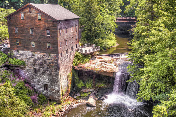 Photograph - Youngstown Ohio Lanterman's Mill by Gregory Ballos