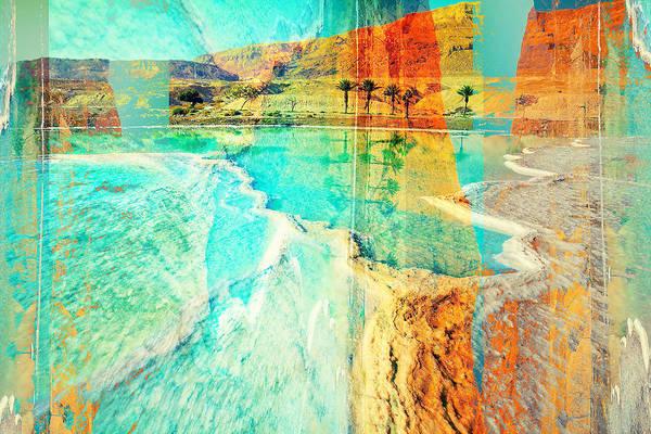 Digital Art - Your Cross In The Desert by Payet Emmanuel