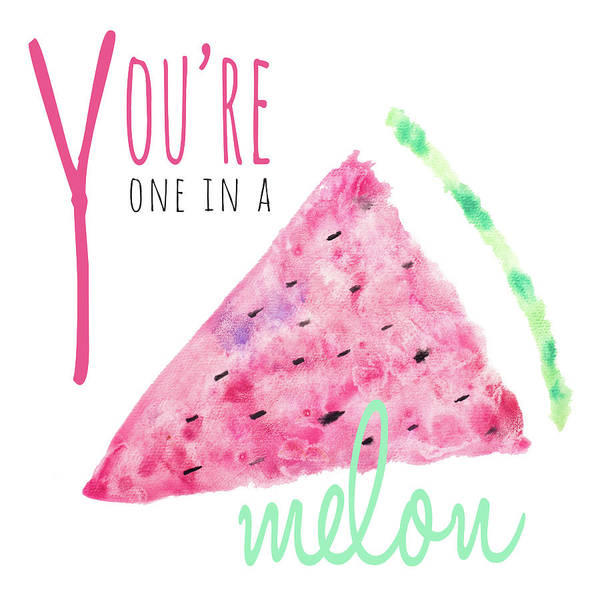 Melon Painting - You're One In A Melon by Susan Bryant
