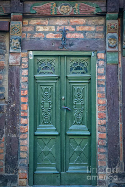 Wall Art - Photograph - Ystad Hans Raffns House Door by Antony McAulay
