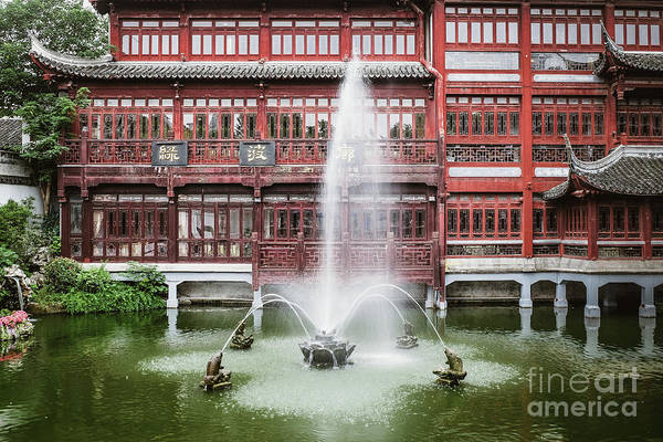 Photograph - Yu Garden Shanghai by Iryna Liveoak